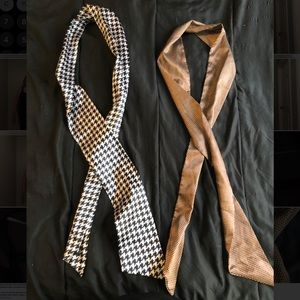 Accessories - Two silk scarves